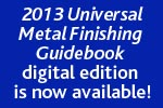 2013 Metal Finishing Guidebook