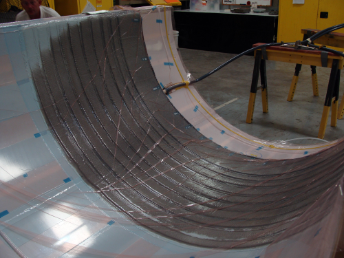 Wind turbine blade production – new products keep pace as scale