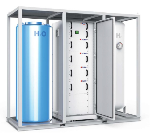 Acta Power Integrated Electrolyser Fuel Cell System For