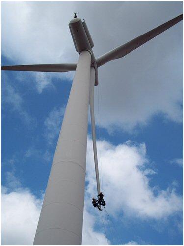Meeting The Challenge Of Wind Turbine Blade Repair