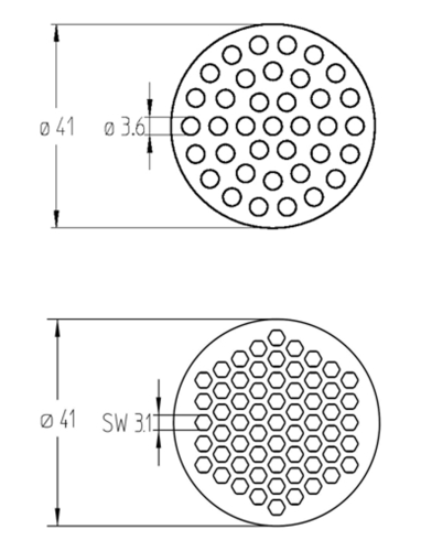 ceramic membranes  high filtration area packing densities