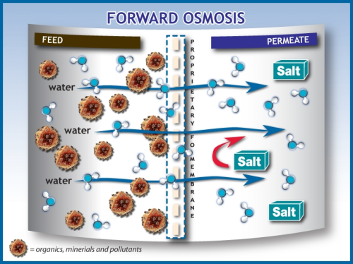 What S The Future For Forward Osmosis Working With Water