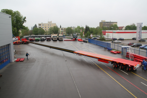 transporting 62 m wind turbine blades renewable energy focus