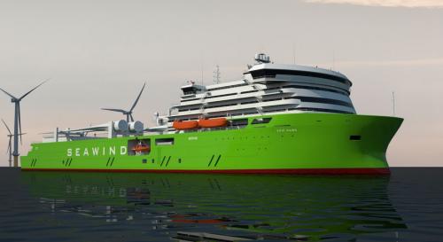Offshore Wind Farm Maintenance Vessel Designed Renewable