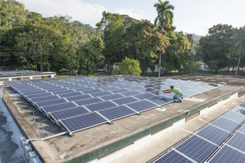 Solarworld Donates 50 Kw Of Solar Panels To Provide Clean