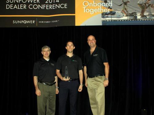 Sunpower Recognizes Top Solar Dealer For 2013