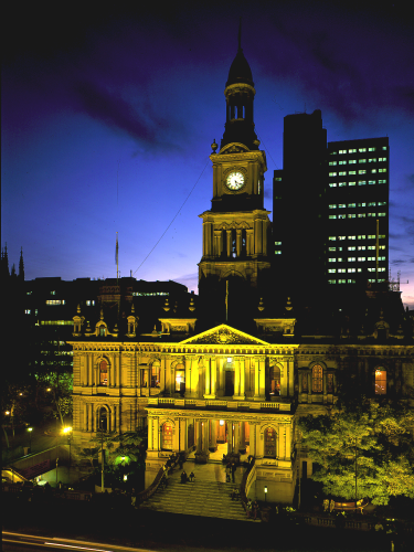Sydney Town Hall With Solar Rooftop Installation