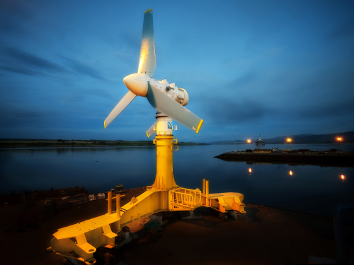 Tidal Developments Power Forward Renewable Energy Focus