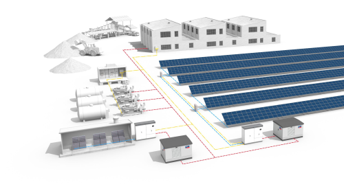 Integrating Solar Into The Diesel Power Supply Renewable Energy Focus
