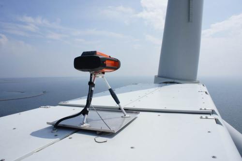 Wind Power New Nacelle Mounted Lidar Wind Turbine Power