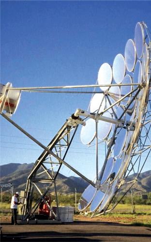 Csp Dish Projects Under Development Renewable Energy Focus