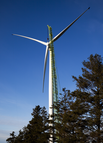 Siemens Installs 3 Mw Direct Drive Wind Turbine Prototype
