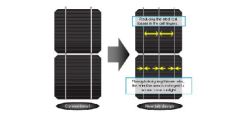 sanyo solar pv module reaches 21 1 efficiency renewable energy focus. Black Bedroom Furniture Sets. Home Design Ideas