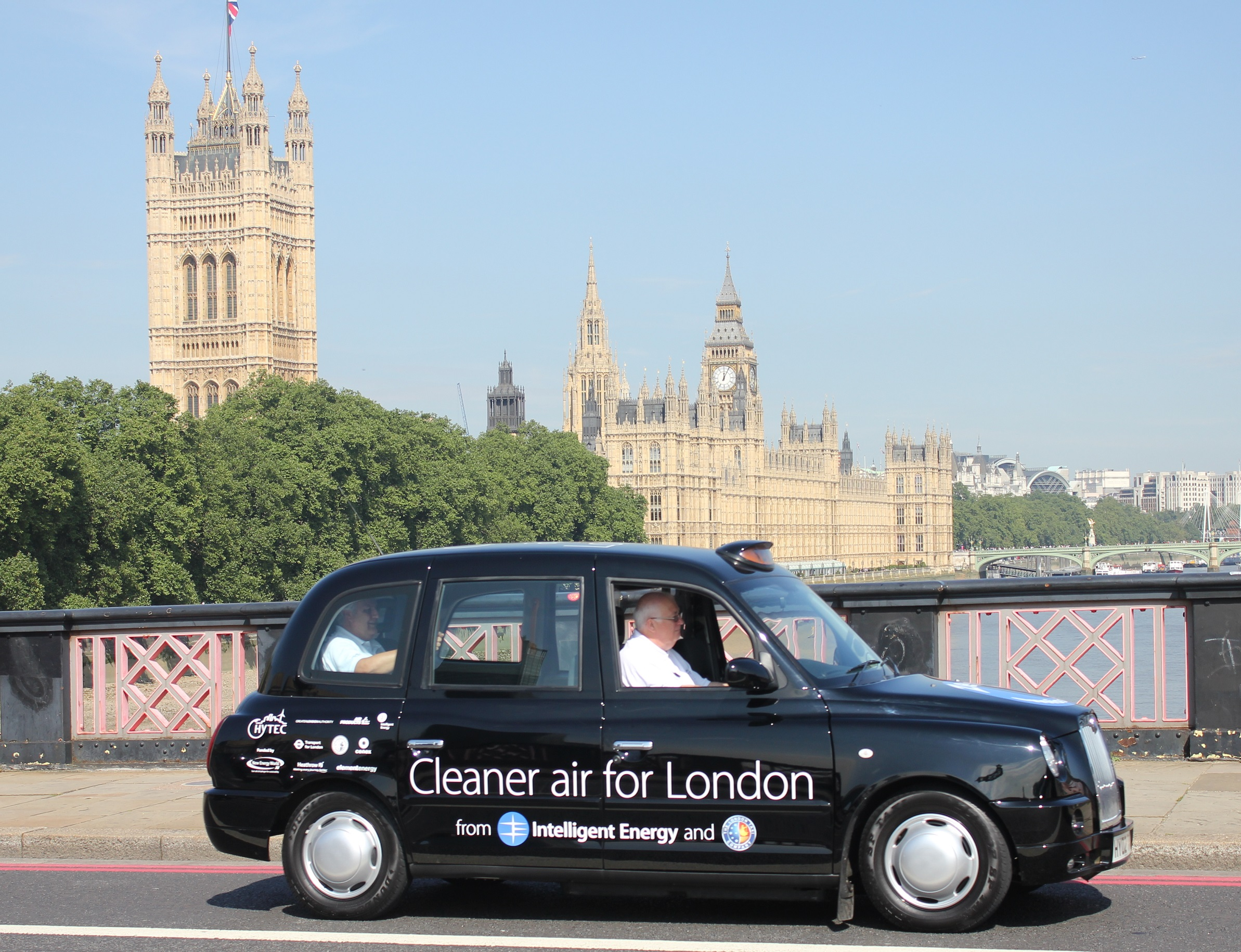 Intelligent Energy has led a consortium to introduce zero-emission fuel cell electric taxis to London. The consortium developed and integrated robust, high-efficiency, fuel cell electric powertrains into TX4 taxis from The London Taxi Company.