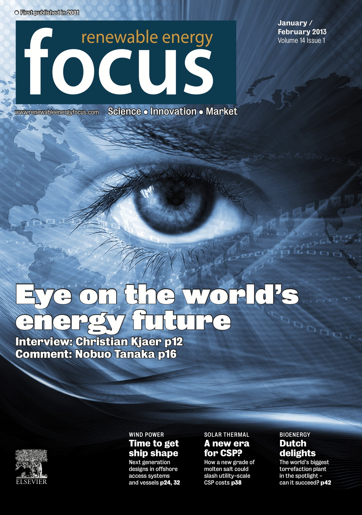 REFocus Jan/Feb 2013 cover