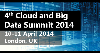 4th Cloud And Big Data Summit 2014